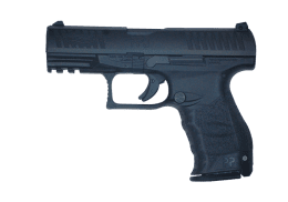 WALTHER 9MM PPQ handgun