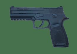 SIG SAUER 9MM P250 handgun