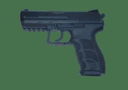 HK 40SW P30 handgun