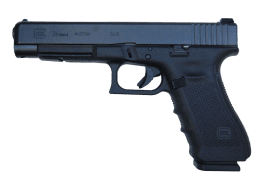 GLOCK 9MM 34 GEN4 handgun