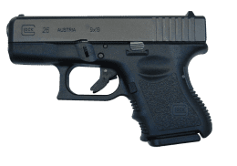 GLOCK 9MM 26 GEN3 handgun