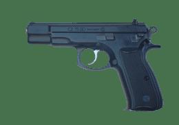 CZ 9MM 75BD handgun