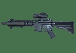 LWRC 5 machine gun