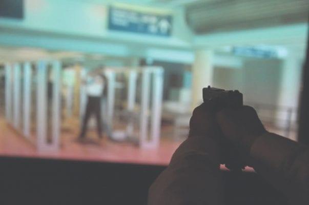 shooting simulator screen