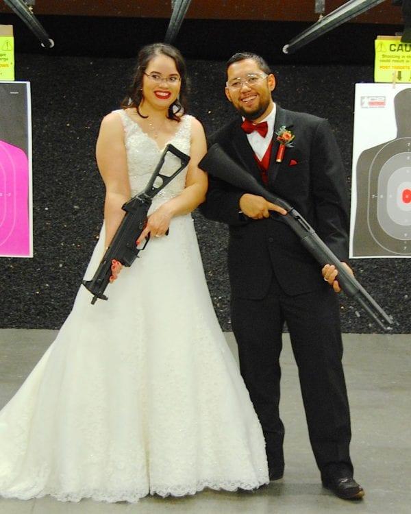 wedding couple | shotgun wedding | C2 Tactical