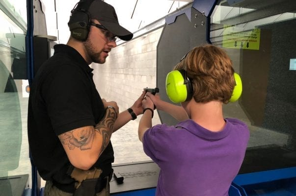 private shooting lesson for kids | C2 Tactical