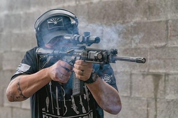 Rifle Shooting At C2