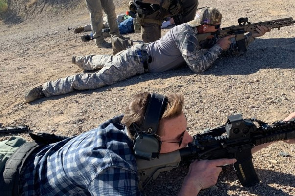 Carbine Shooting   Advanced Rifle Training